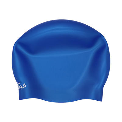 Custom silicone seamless swim cap for adult