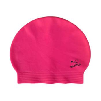 Ultra-thin thread latex swimming cap