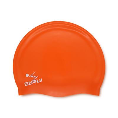 Large Flat silicone swim cap
