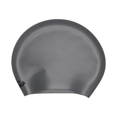oem & odm competition long hair lady seamless silicone swim cap